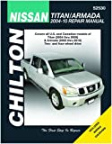 Nissan Titan (2004 thru 2014) and Armada (2005 thru 2014) Repair Manual (52530)