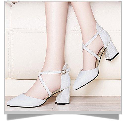 Dicken Hingewiesen mit XZGC Frauen mit Schuhe HzqH7TS