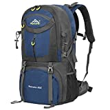 Vbiger 60L Hiking Backpack Waterproof Backpacking Pack Outdoor Sport Daypack with Rain Cover for Men and Women Climbing Hiking Trekking Mountaineering