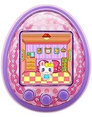 Virtual Pet Toy, JSxhisxnuid Electronic Mini Pet Toy Child Tamagotchi Electronic Virtual Digital Pet Speelautomaat met LED-Blhing voor kinderen, kerstverjaardag voor jongens en meisjes, cadeau (roze)