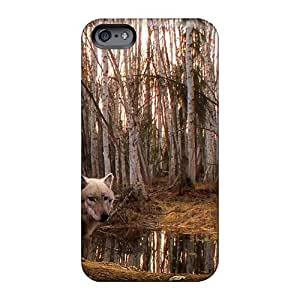 Great Hard Phone Cases For Apple Iphone 6s Plus (svr2109JZqS) Support Personal Customs Beautiful Wolf The Predator Image