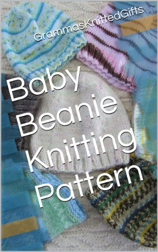 Baby Beanie Knitting Pattern - 5