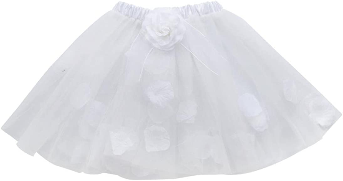 Fheaven Baby Girls Kids Floral Bowknot Princess Tutu Ballet Skirts Fancy Party Skirt