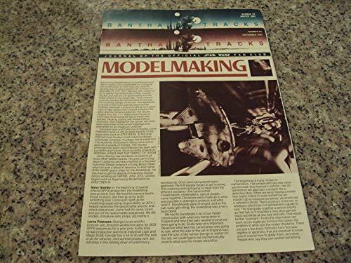 2 Iss Bantha Tracks Star Wars Fan Club #22-23 1983 Model Making ()