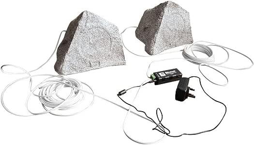 Eagle - Altavoz Bluetooth para jardín, Color Granito: Amazon.es: Instrumentos musicales