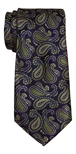 Ted Baker Green Paisley Tie