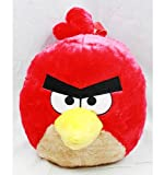 """Rovio Angry Birds Plush Doll Backpack Kids to Adults (Size 14"""", RED) [Apparel]"""