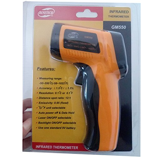 VETUS INSTRUMENTS GM550 IR Infrared Thermometer LCD Non-C...