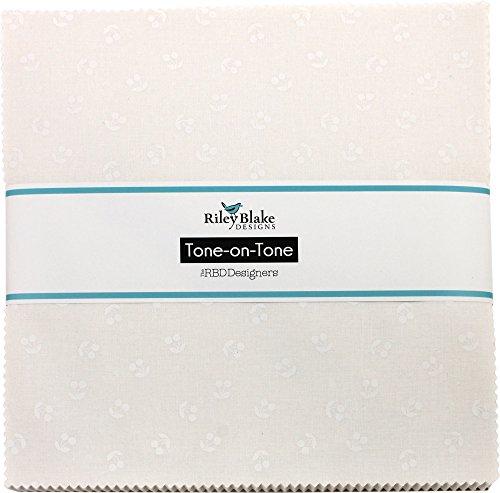 Tone-on-Tone Cherries White 10