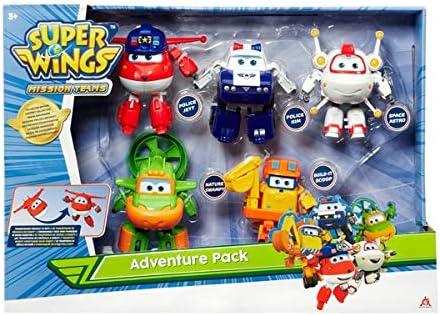 Desconocido Super Wings Paquete de Aventuras transformables, Surtido, Paquete de Regalo de edición Especial, Juego para niños: Amazon.es: Juguetes y juegos