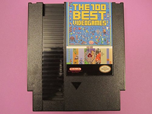 The 100 Best NES Games Cartridge - 143 Games Total - Contra Nintendo Nes Game