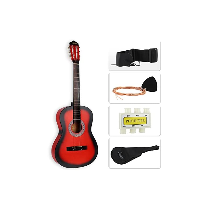 LAGRIMA Acoustic Guitar Beginners with G