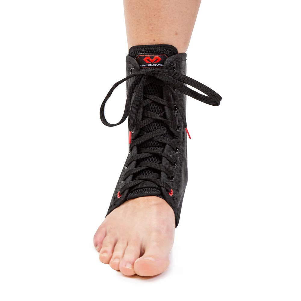 McDavid Lightweight Ankle Brace (Black, X-Small) by McDavid (Image #3)