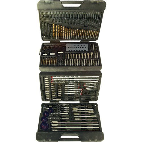 Silverline 868762 Assorted Drill Bit Set - 204 Pieces by Silverline