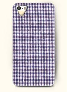 Pink Ladoo? iPhone 5C Case Phone Cover Purple Plaid