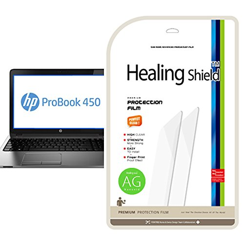 [Healingshield] HP Probook 450 G1 Anti-Glare, Anti-Fingerprint Type LCD Screen Protector (Lg 450 Screen Protector)