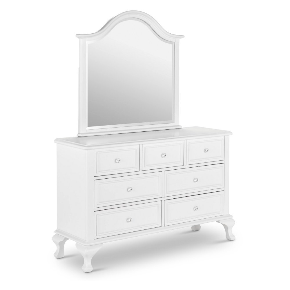 Elements Jenna Dresser with Mirror in White