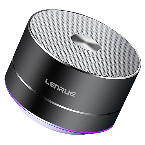 LENRUE Portable Wireless Bluetooth Speaker with Built-in-Mic,Handsfree Call,AUX Line,TF Card for Iphone...