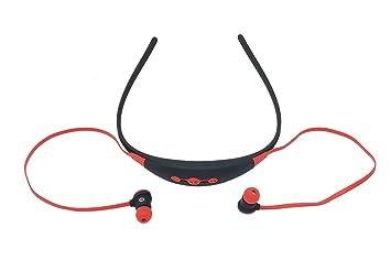 BES SRL Auriculares Sport Bluetooth 4.0 Arco micrófono Llamadas Android Apple stn-110