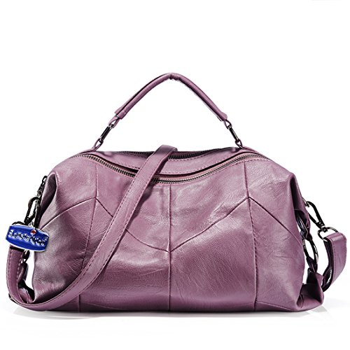 Satchel for Women Top Handbags Bags Purple Hobo Tote Shoulder Handle Soperwillton Sa6wYTfqf