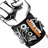 Tool Wristband, VAKOO Powerful Magnetic Wristband for Holding Tools, Screws, Nails and Drill Bits, Best Tool for Dad, Husband, Men