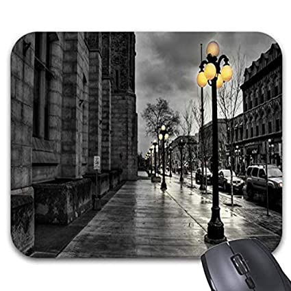 2821f1bb4ce3f Amazon.com : City Street Old Fashion Mouse Pads - Stylish Office ...