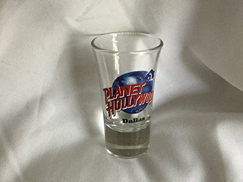 Planet Hollywood Dallas Shot Glass, Shot - Vegas In Hollywood Las Stores Planet