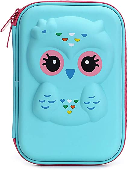 EVA Pencil Pen Case Holder Hard Shell Pouch Stationery Cover Box Storage Makeup
