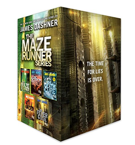 The Maze Runner Series Complete Collection Boxed Set Only $27.45 (Was $50.95)