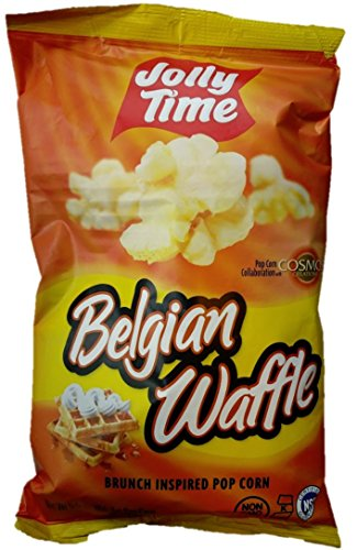 Jolly Time Popcorn, Party Size 5.5 oz - 8 Pack (Belgian Waffle)