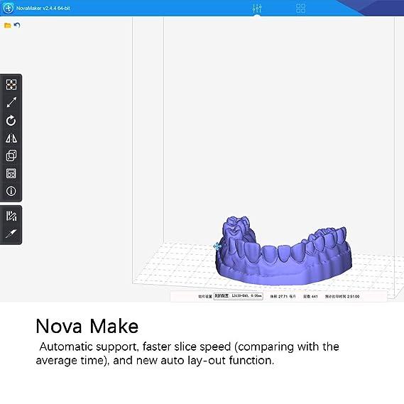 ALWAYZZ UV LCD 3D fotocurado de la Resina Impresora Fuera de línea ...
