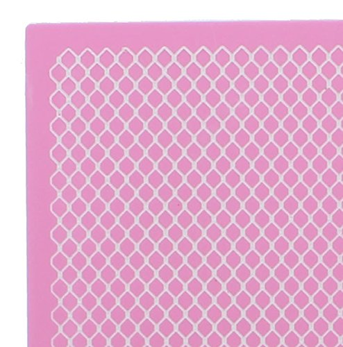 Fishnet 3-D Large Silicone Lace Mat by Claire Bowman by THE CAKE DECORATING COMPANY (Image #2)