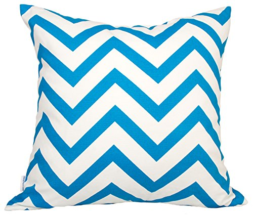 TangDepot Decorative Handmade Zebra-Stripe/Wavy Line 100% Cotton Throw Pillow Covers/Pillow Shams, Many colors and sizes - (20