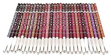 Demarkt 28 PCS Lapices Delineador Para Labios Ojos Hermosa Mujeres Maquillaje Cosmético