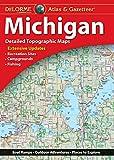 DeLorme® Michigan Atlas & Gazetteer (Delorme Michigan Atlas and Gazeteer)
