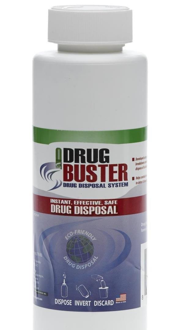 Medline OTC3210H Drug Buster - Drug Disposal System, 16 oz