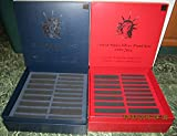 1999-2016 RED(silver) & BLUE(clad) PROOF SET STORAGE BOX