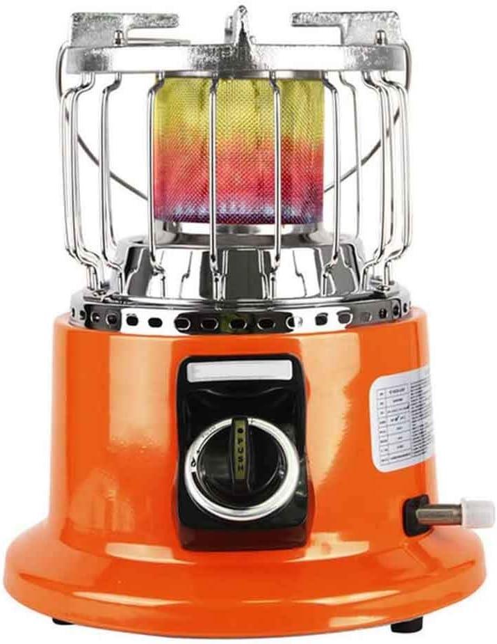 Calefacción Calentador Al Aire Libre, Calentador De Pesca En Hielo Para Acampar, Calentador Patio Estufa De Calefacción Calentador De Gas Licuado De Petróleo Calentador De Gas Doméstico Para Picnic En