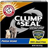 Arm & Hammer Clump & Seal Cat Litter, Fresh Home Scent 28lb