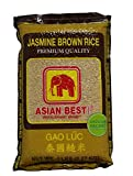 rice polishings - Asian Best Jasmine Brown Rice, 5 Pound