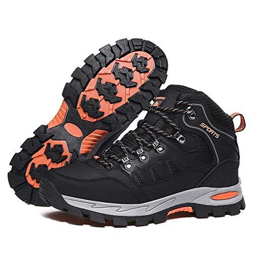 FOGOIN Chaussures de Randonnée Homme Femme Bottes de Marche Chaussures Montante Hiver 3