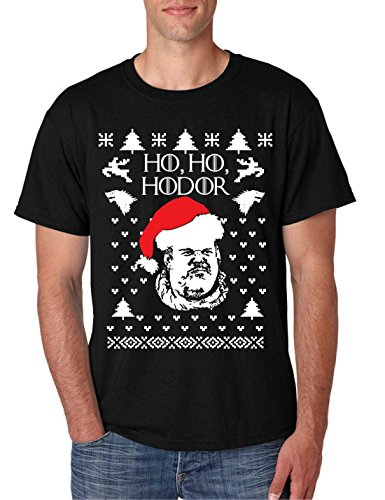 T Shirt Ho Ho Hodor Ugly Christmas Sweater