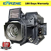 Emazne ELPLP62/V13H010L62 Projector Replacement Compatible Lamp With Housing For Epson EB C400WU Epson EB C450XB Epson EB C450XE Epson EB C458XS Epson EB C520XB Epson EB C520XE Epson EB G5450WU