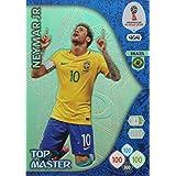 ADRENALYN XL FIFA WORLD CUP 2018 RUSSIA - NEYMAR JR TOP MASTER TRADING CARD - BRAZIL #464