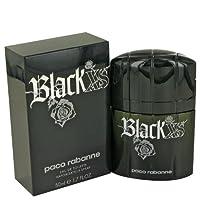 Black Xs Por PACO RABANNE FOR MEN Spray de agua de baño de 1.7 oz