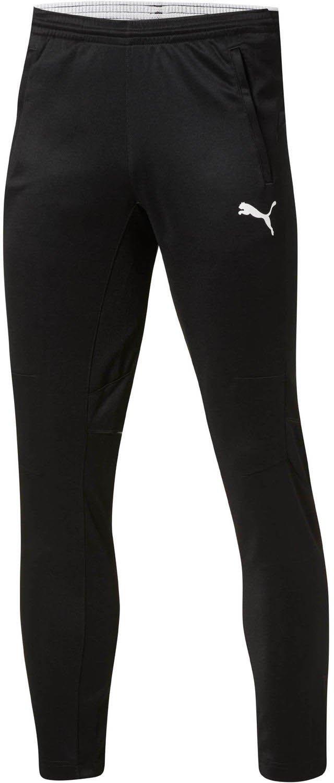 PUMA Men's Training Pant, Black/White, YS