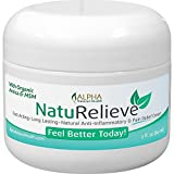 Organic Arnica & MSM Natural Pain Relief Cream Without All the Chemicals. Topical Analgesic Anti Inflammatory. Other Benefits: Insect Bites, Poison ivy, Eczema, Psoriasis, Dermatitis.