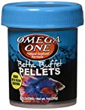 Omega One Betta Buffet Pellets Betta Food - 1oz