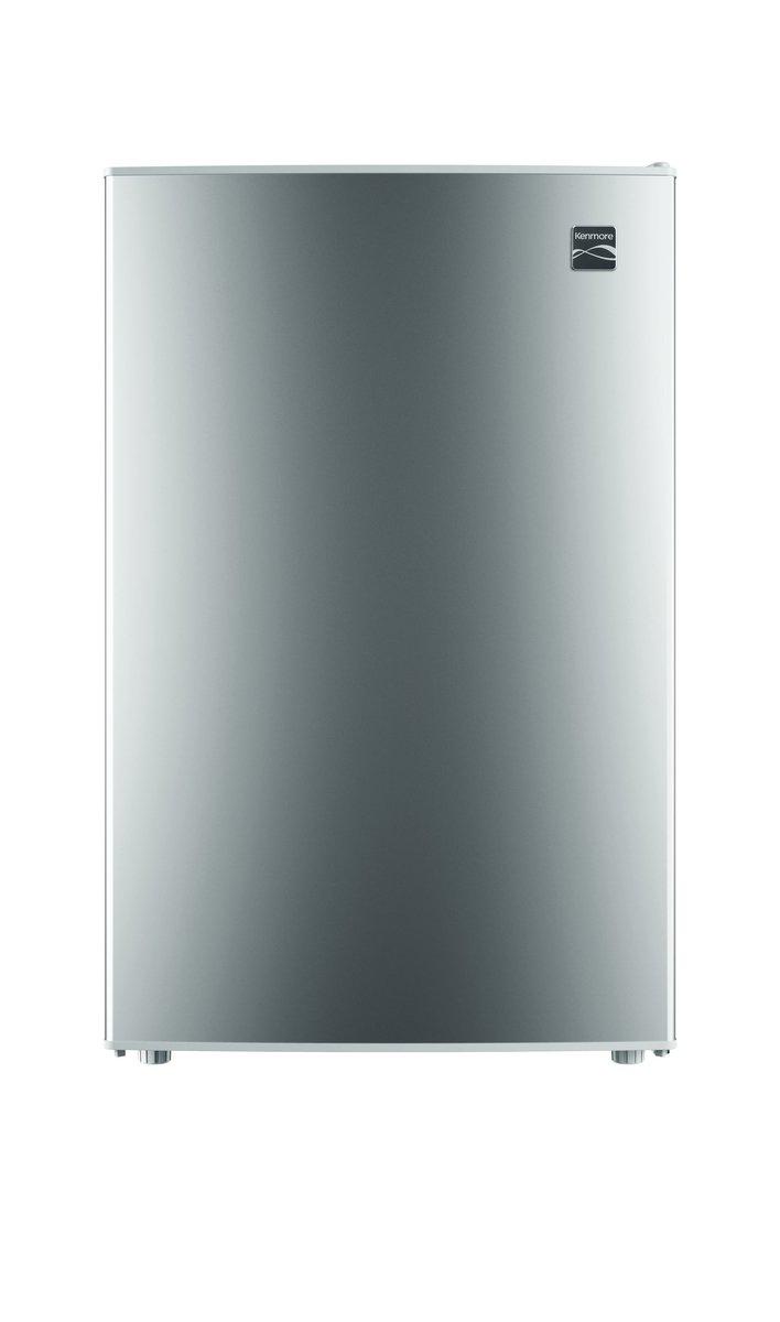 Kenmore 99053 Compact Mini Refrigerator, 4.5 cu. ft. in Silver