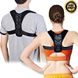 Premium Back Posture Corrector for Women & Men – Effective and Comfortable Posture Brace for Slouching & Hunching - Discreet Design – Clavicle Support for Medical Problems & Injury
